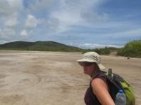 Saline im Süden von Martinique