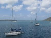 Yachtreporter Johannes Erdmann und Cati nebenan mit ihrer Maverick too