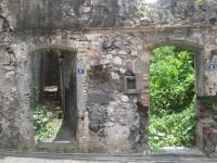 Ruinen sind mit Hausnummern versehen