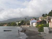 Saint Pierre am Fuß des Vulkans Montagne Pelée