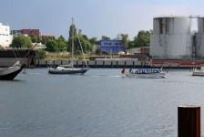 SY Gegenwind - Auslaufen Kiel 5. Juli 2014