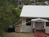 Trinkwassergewinnung per Regentonne am Haus
