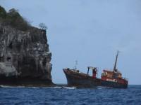 Schiffswrack vor Bequia