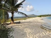 Sandy Island ungefähr so groß wie ein Fußballfeld