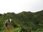 Auf dem Rand des Kraters