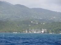 Schiffswerft Grenada Marine liegt hinter uns