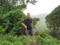 Auf dem Weg zur Wildwasserduche