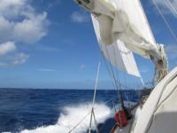 Hart am Wind zwischen den Windward Islands