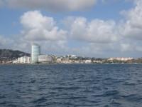 Abschied von Fort de France Martinique