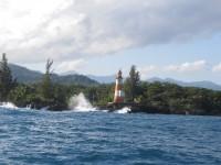Zwischenstopp: Leuchturm die Ansteuerung von Port Antonio