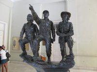 Volkshelden: Fidel Castro, Camilo Cienfuegos, Ernesto Che Guevara