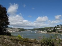 Links Dartmouth rechts Kingswear
