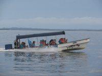 Typisches Wassertaxi im Archipel