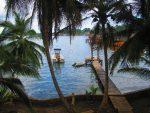 Ausflug auf die Insel Bastimentos in der Bocas del Toro Region: Etappe 3- Besuch bei Carmen's Place