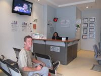 Hospital Punta Pacifica Wartebereich für das Labor