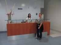Hospital Punta Pacifica mit freundlichen und hilfsbereiten Mitarbeiter