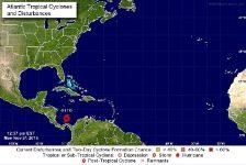 Tropical Storm OTTO am 21.11.2016 ist ca. 200sm von uns entfernt