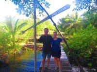 Besuch auf Grahams Insel