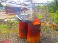 Müllverbrennungsanlage und Sandfliegenvertreibung