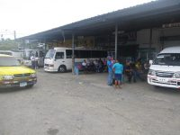 Busbahnhof in Almirante