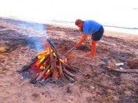 Lagerfeuerromantik auf Escudo de Veragas