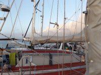 1_Vier Schiffe an einer Muringtonne auf dem Gatunsee